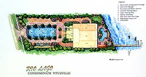 Beautiful lifestyle in Rio Lago condominiums - Titusville, Florida